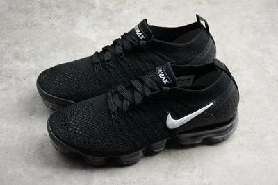 ddcffb546604c Nike Air VaporMax Flyknit 2 Men s Running Shoes Black white 942842 ...