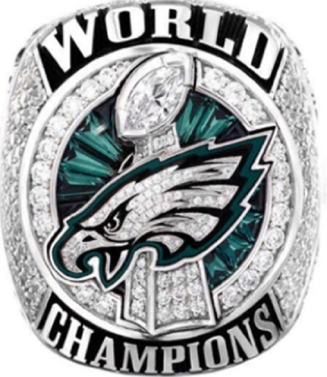 7ea8f9565e761 2017 Philadelphia Eagles Super Bowl Championship Ring..Solid  Copper..Customized With Your Name on Storenvy