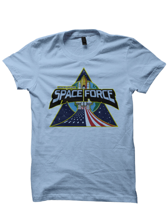 1295ed62c Space Force T-shirts President Trump Shirts Separate But Equal Funny ...