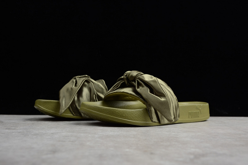 Puma Fenty Bandana Slide Bow Olive Branch Slippers on Storenvy e005258e4