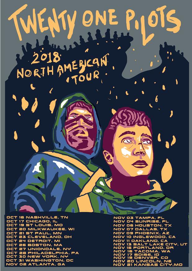 21 Pilots Tour Dates 2020 Top 10 Punto Medio Noticias | Twenty One Pilots Tour Dates