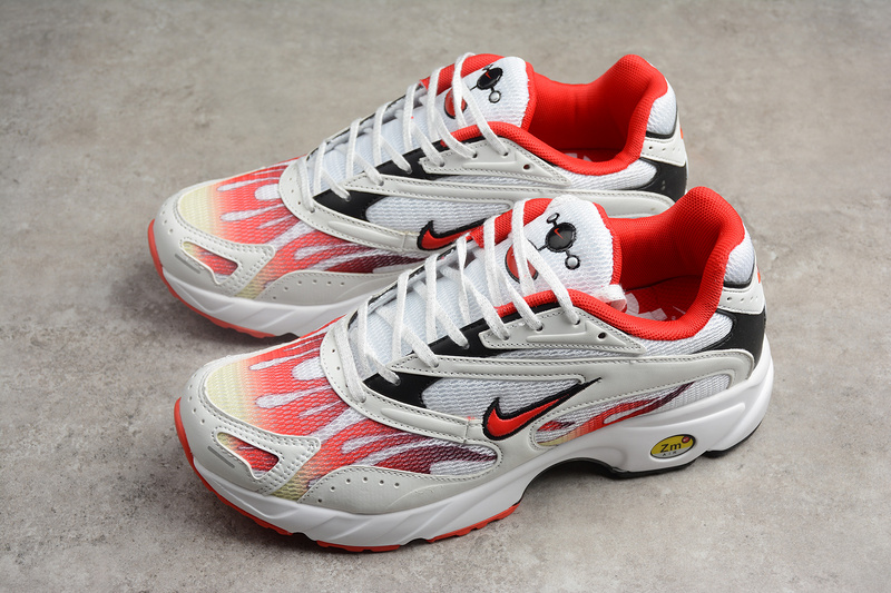 Supreme X Nike Zoom Streak Spectrum Plus White Red Shoes