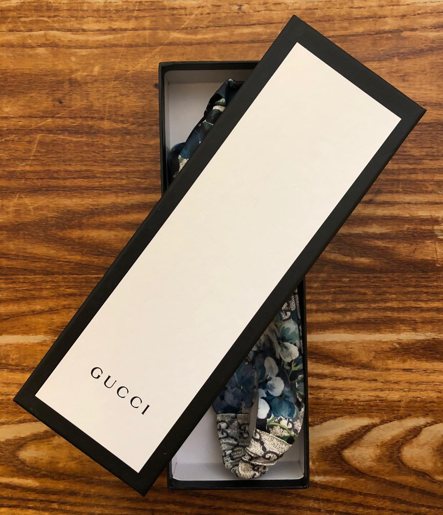 ca45808bdca GUCCI Blooms print silk headband · Distantstyle · Online Store ...