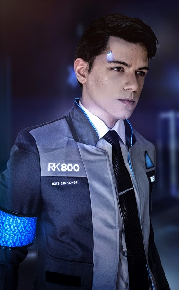 Connor Ii Detroit Become Human Print Nipahdubs Online Store Powered By Storenvy
