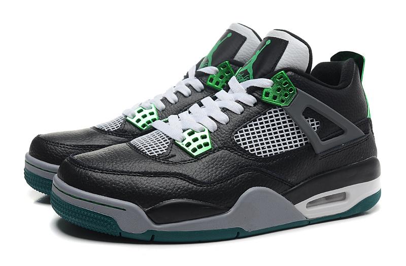 94a37854baf7 Nike Air Jordan 4 Oregon Ducks Black white green Shoes · Toms ...