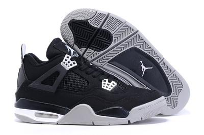 Eminem x Carhartt x Nike Air Jordan 4 Retro Noir/Argent Chaussures