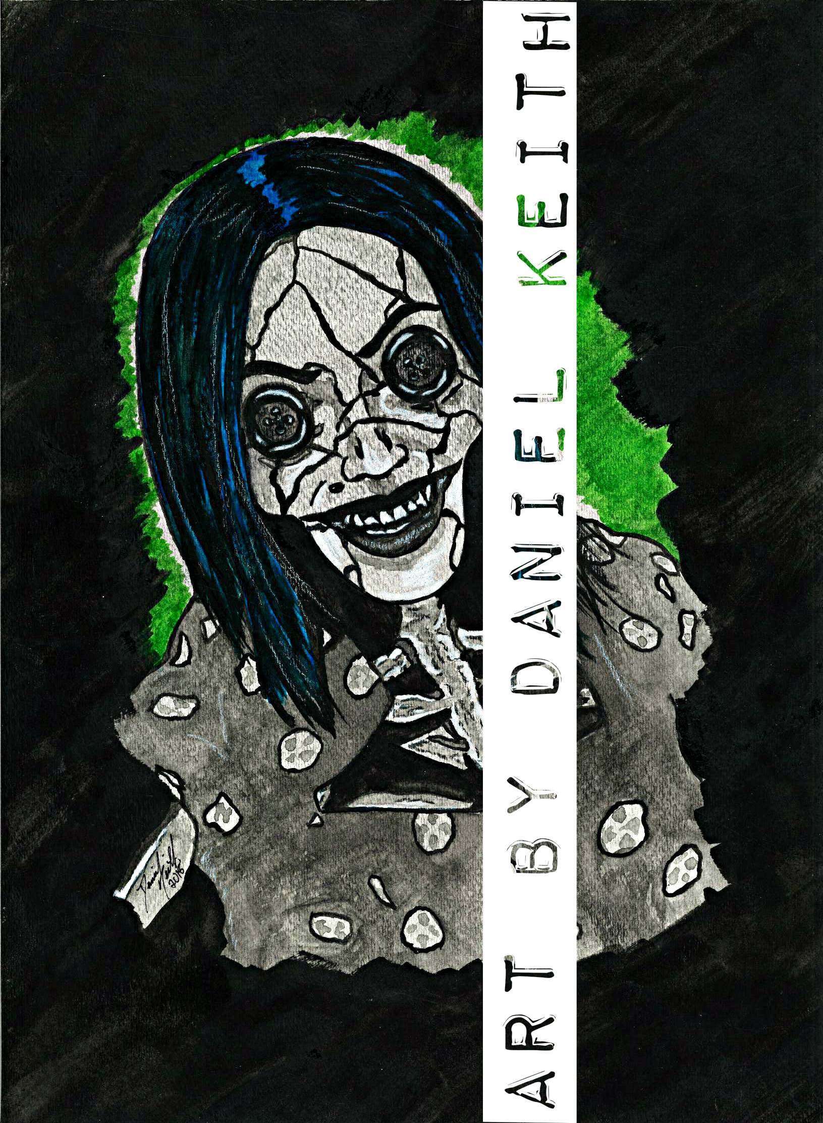 Print Coraline The Other Mother Sold By Art By Daniel Keith On Storenvy