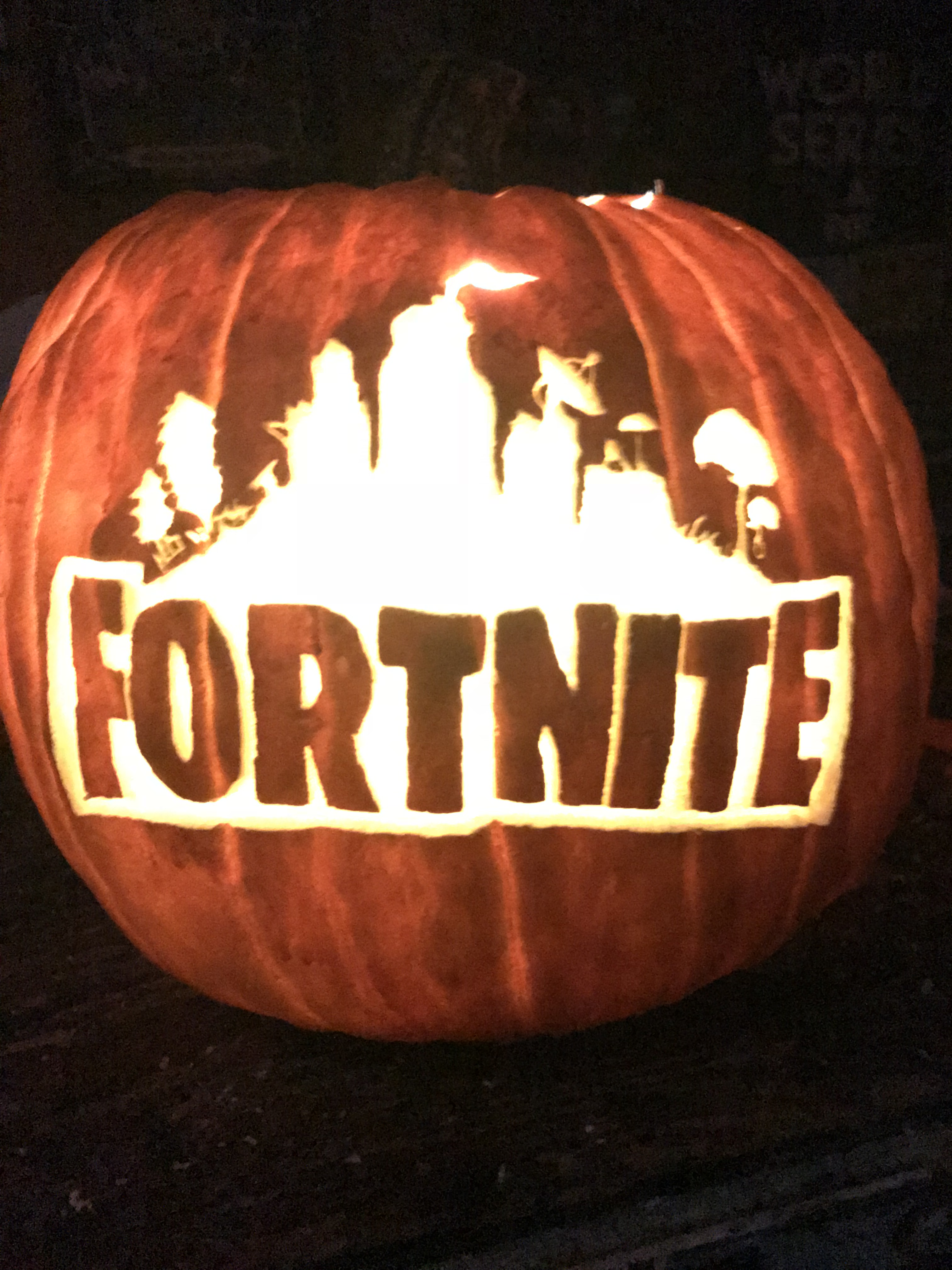Fortnite Halloween Pumpkin Ideas
