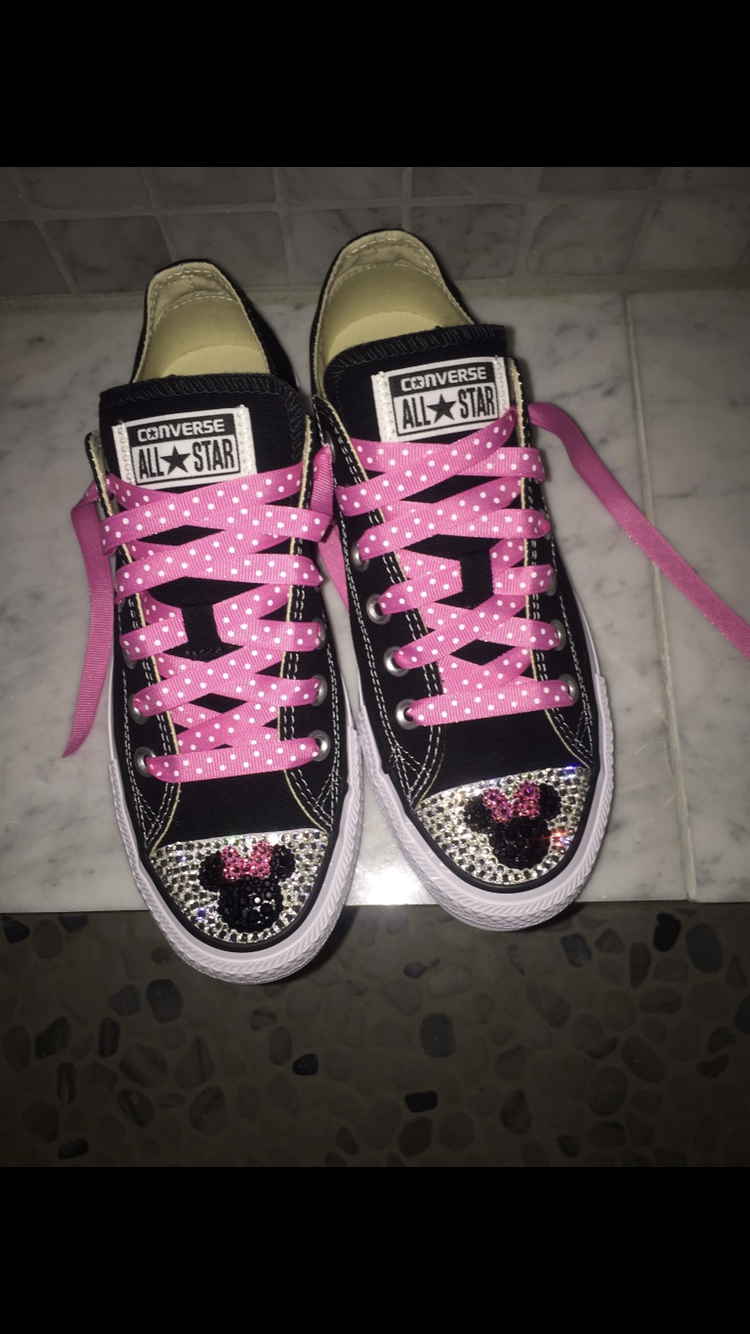 Custom Bling toe Minnie Shoes · THE BLING QUEEN · Online Store ... c1d2ee4176