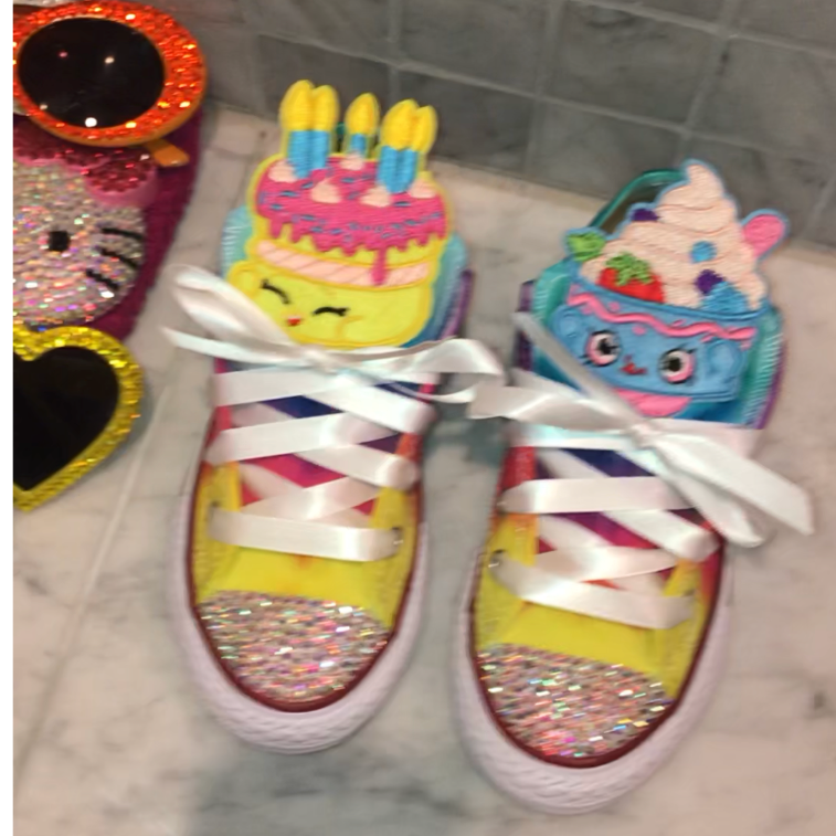 9fcda228b6d9fb Tie Dyed Kids Character Converse · THE BLING QUEEN · Online Store ...