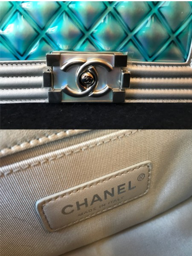bf2f02787093 ... Chanel Classic Flap Boy Runway Small Lambskin Leather Crossbody Bag -  Thumbnail 2 ...