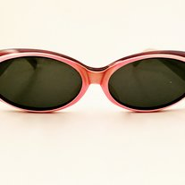 84686b00f3a0 Envy This Collect. French Vintage Sunglasses 70s Eyewear Pink Purple Blue Frame  made ...