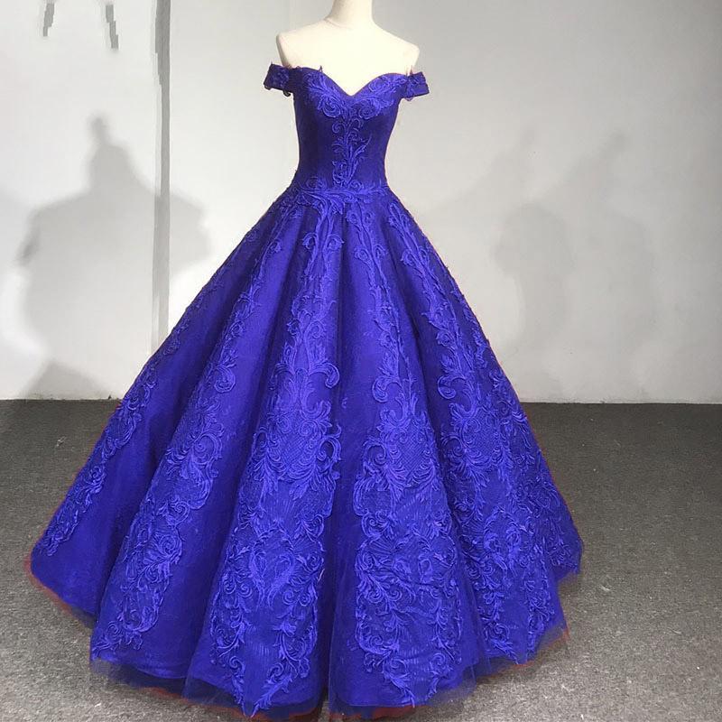 aac8803e53b Burgundy Ball Gown Lace Wedding Dresses Quinceanera Dress 2018 ...