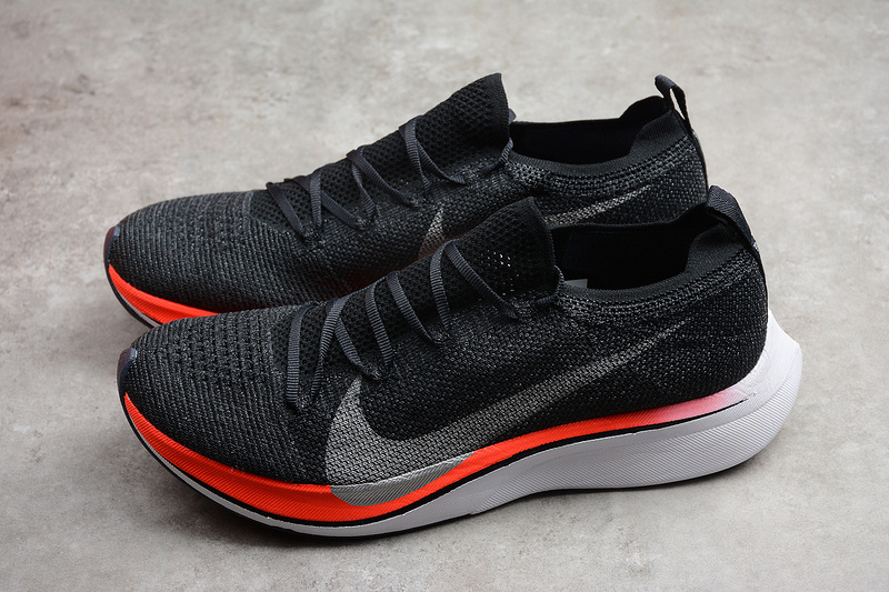 7be7625f6c6 Nike Zoom VaporFly 4 Flyknit Black Red White Running Shoes3