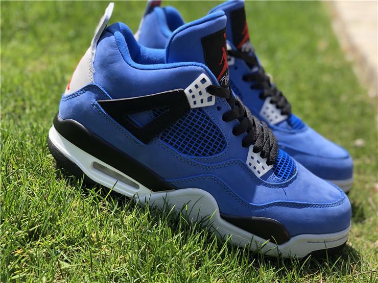 64bcc82ab849 Eminem Encore x Nike Air Jordan 4 Retro Blue Shoes · Toms · Online ...