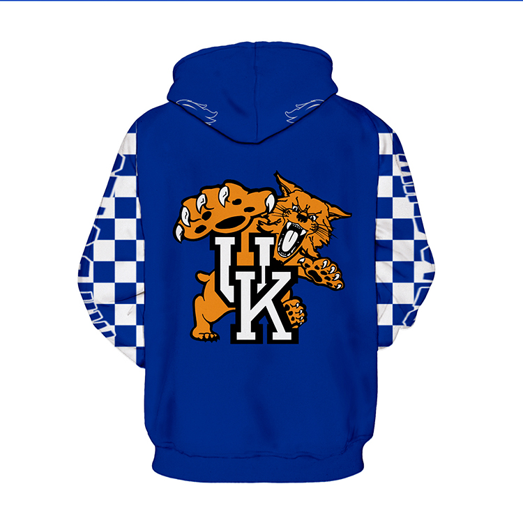08c02697891 ... University of Kentucky Wildcats Hoodie NCAA Team Basketball - Thumbnail  ...
