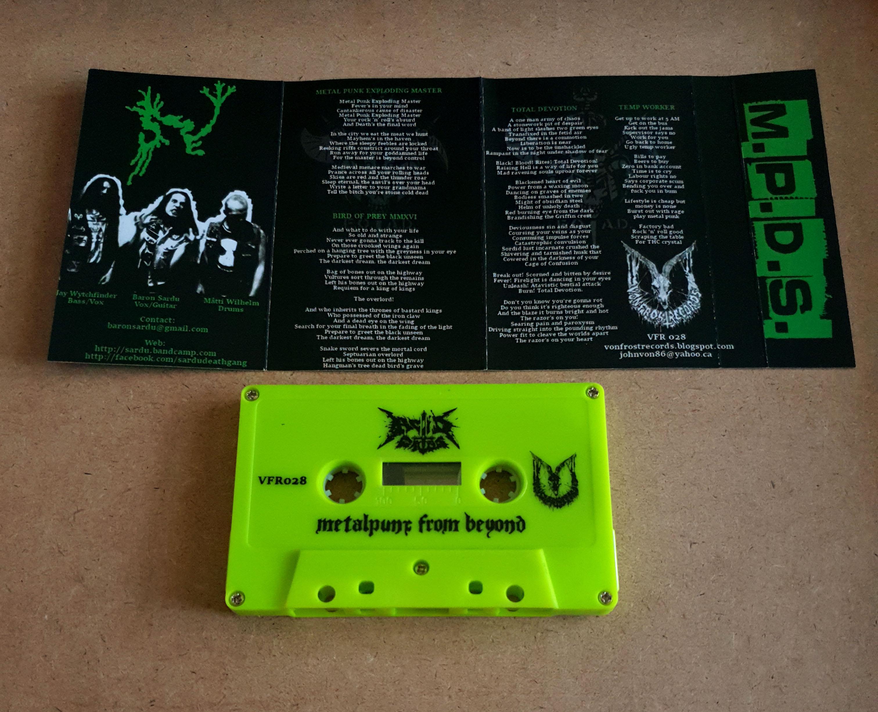 acid cross/sardu - metal pony from beyond from Inhuman assault production