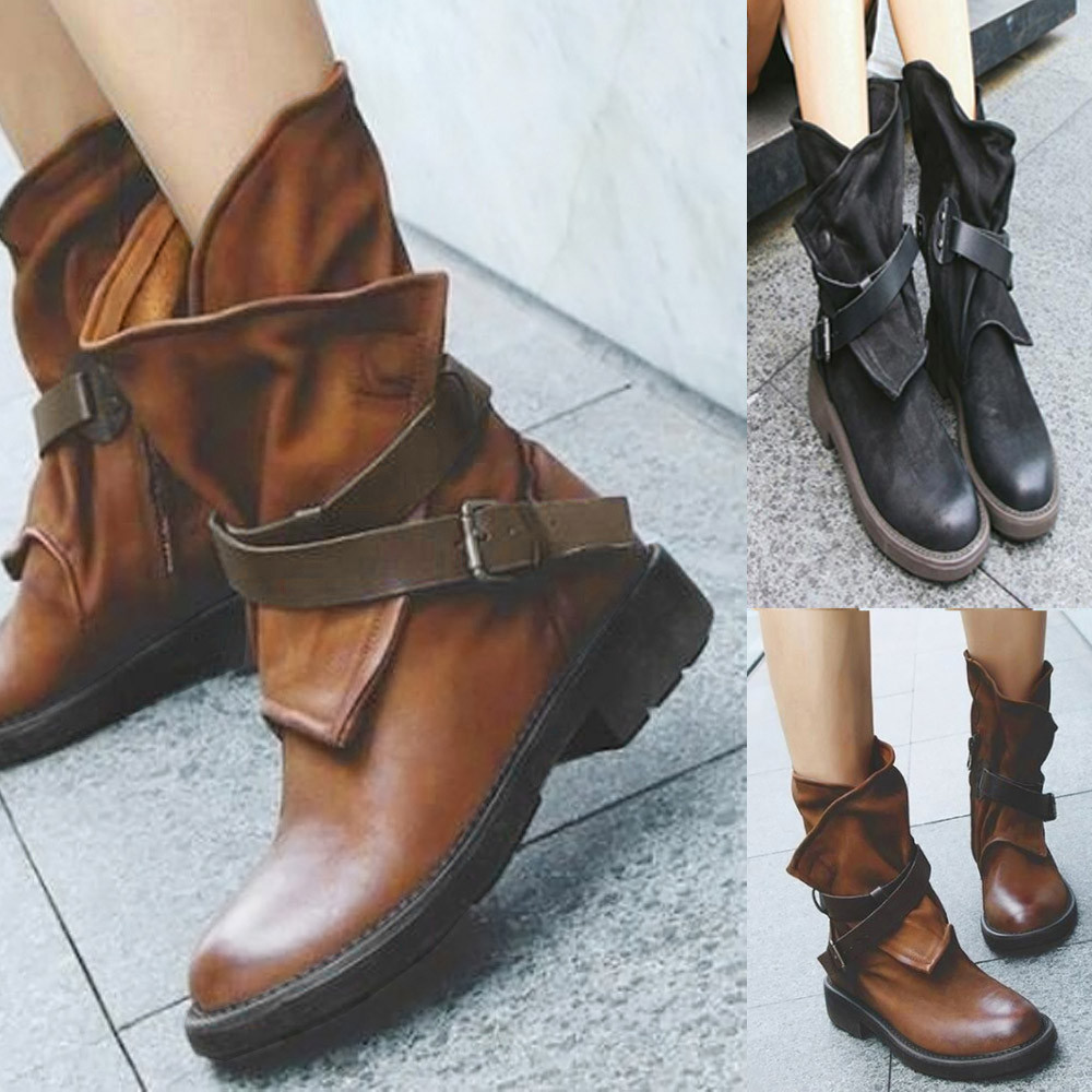 Women Brown Ankle Boots