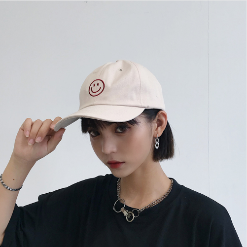 7f93536d509 ... Casquette Femme 2018 Korean Ulzzang Harajuku Casual Lovely Baseball Cap  For Women Hat Summer Street Tide ...