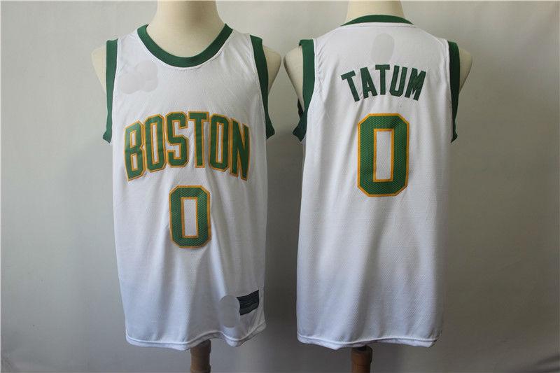 buy online d5f5d a923b Mens Jayson Tatum 0# Boston Celtics City Edition Basketball Jersey from  teamjerseyinc