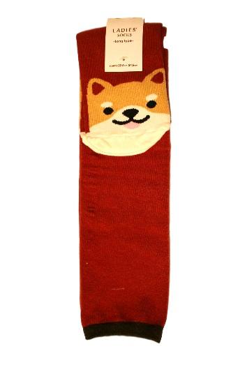 eedfe120d Shiba Inu Dog Long Socks Women Knee High- Kawaii Clothing and ...