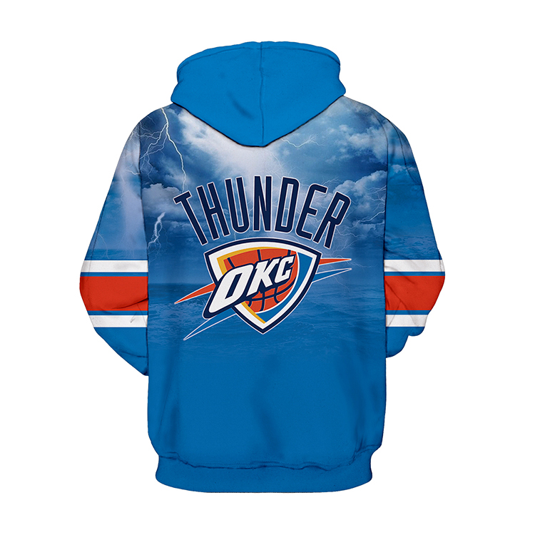 separation shoes 36535 6ab6e Oklahoma City Thunder Sports and Fitness Unisex Sports Hoodies from ZIELO  Apparel Shop