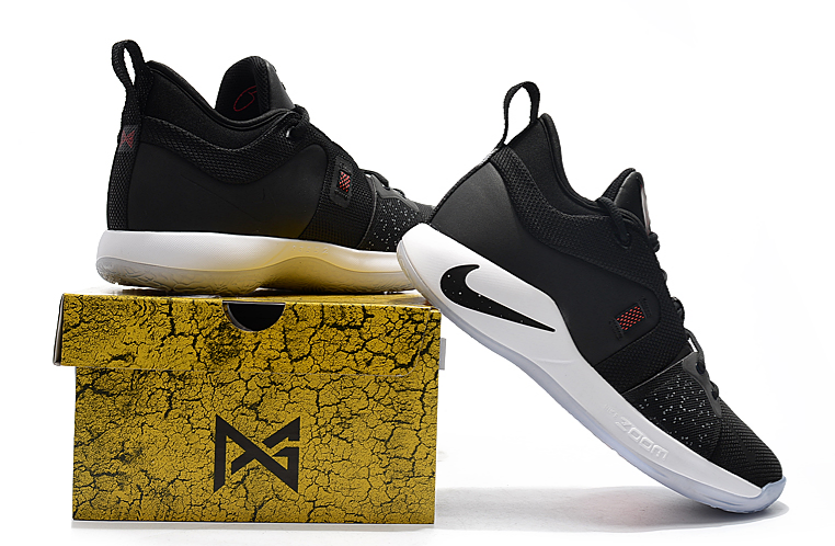 """88631409caf Nike PG 2 """"Taurus"""" Black Black-White-Solar Red For Sale Authentic ..."""