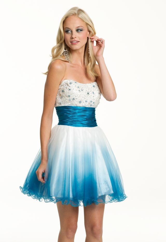 Sky Blue Scoop Short Homecoming Dresses Lace Long Sleeve 8th Grade