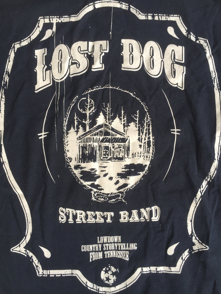 ff08649898dd SHIRT: Lost Dog Street Band - Black Cabin · Anticorp · Online Store ...