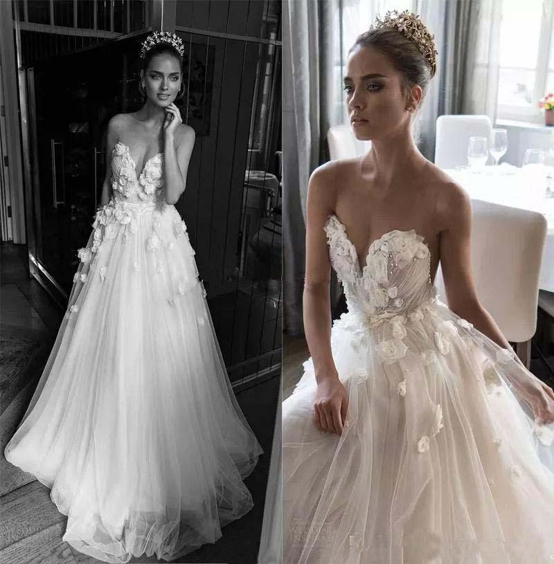 Princesses Wedding Dress Wedding Dresses Strapless Summer Wedding Dress Boho Bridal Gown Ad14 On Storenvy,Plus Size Summer Plus Size Beach Wedding Dresses
