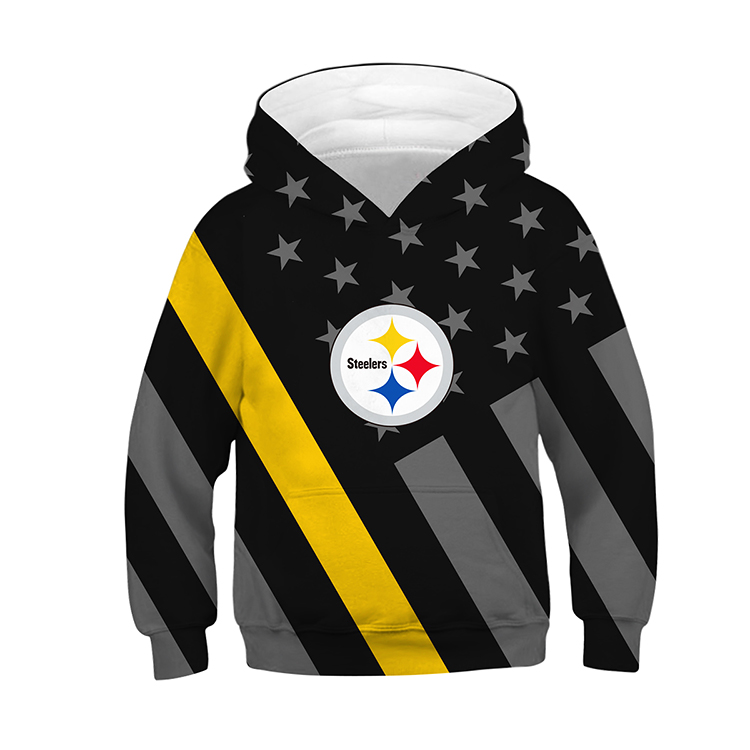 size 40 5f06f b8663 Pittsburgh Steelers Kids Football Hoodies from ZIELO (Pls Pls Pls read FAQs)