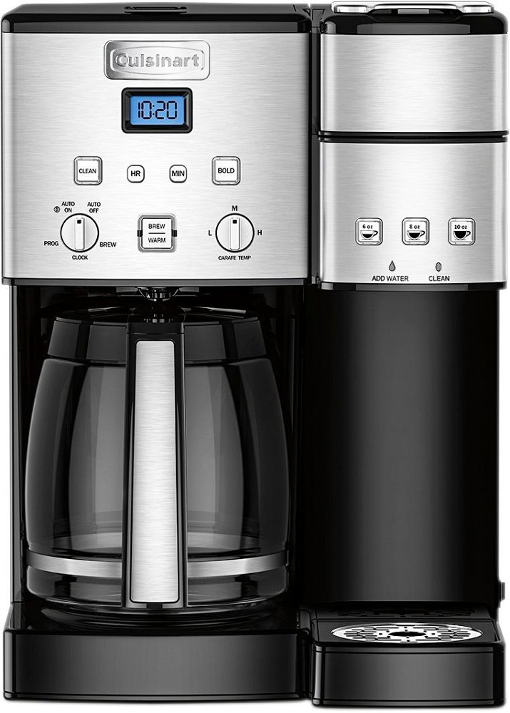 Cuisinart Ss 15 12 Cup Coffee Maker And Single Serve Brewer