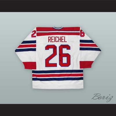 3d4767761 Robert reichel 26 czech republic national team white hockey jersey