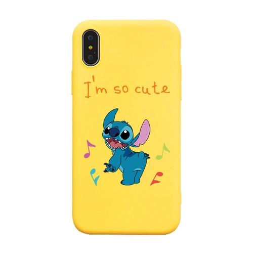 ce99ee63b69 Cute Cartoon Stitch Phone Case For iPhone 6 6S 7 8 Plus Case Soft ...