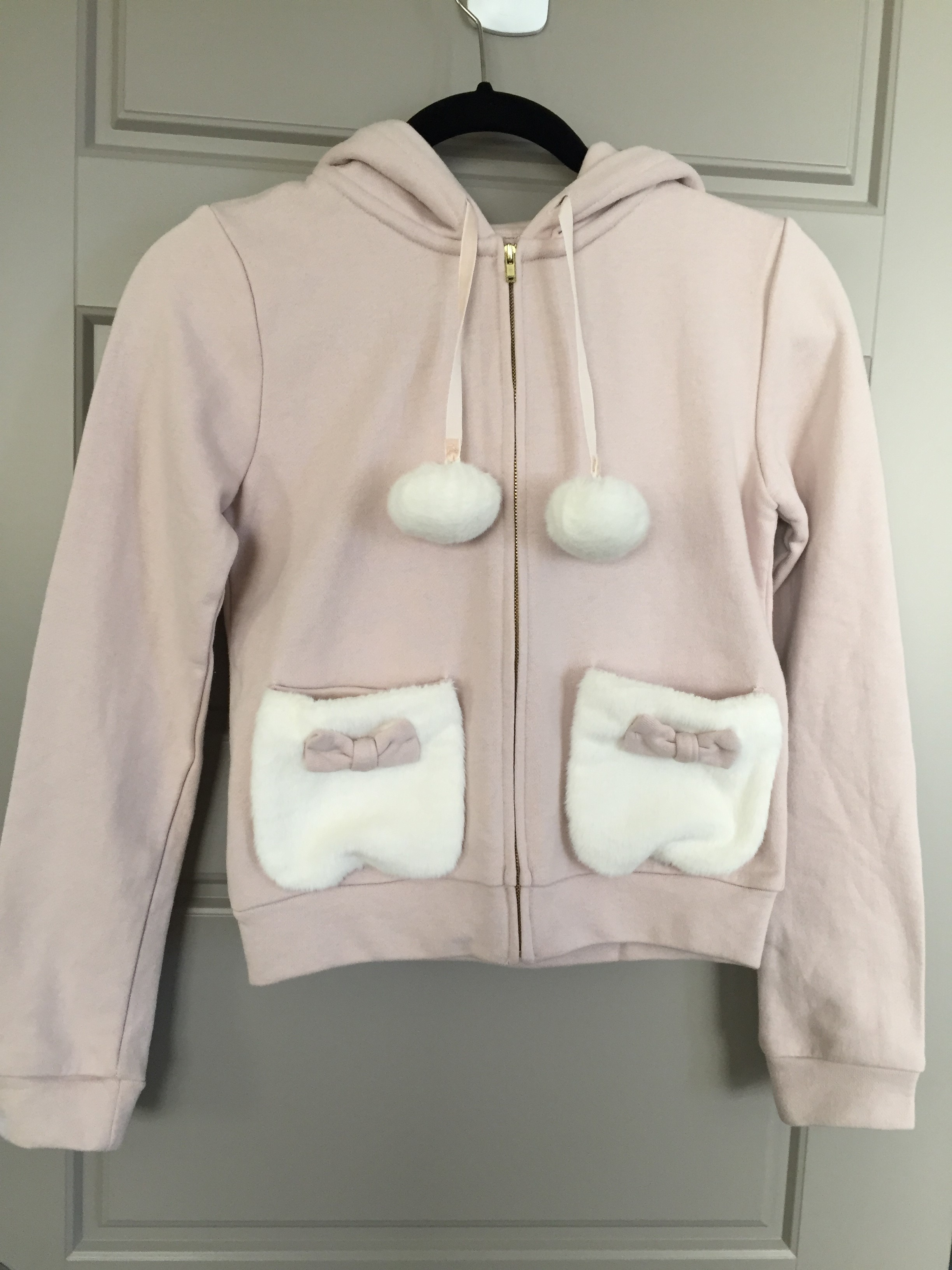 ee0ba839d Liz Lisa adorable light pink hoodie w/o tags. 100% authentic. Never ...