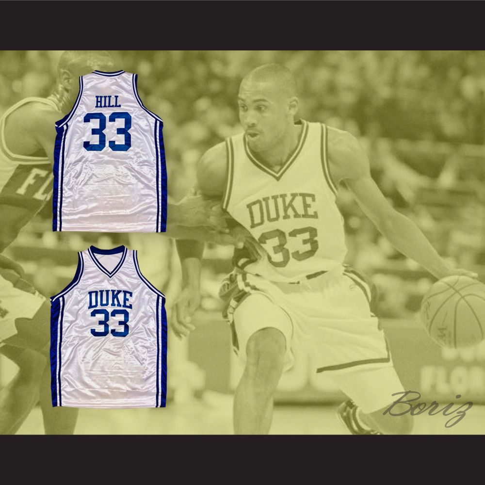 on sale d348b b2cc3 Grant Hill 33 Duke Blue Devils Basketball Jersey from acbestseller