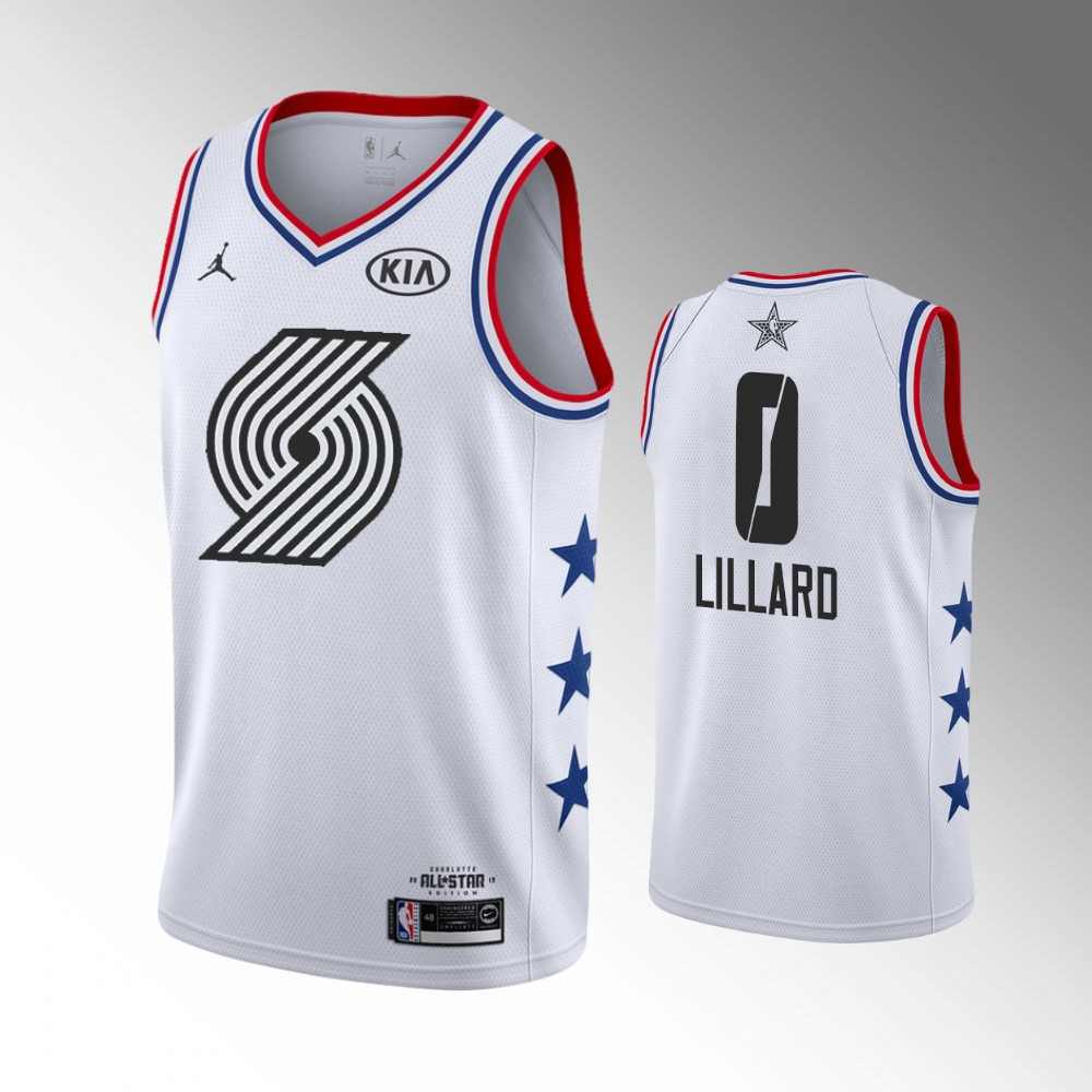 new products 492a0 8e6da discount damian lillard all star jersey 0b6a2 e7dc4