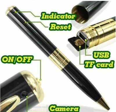 Small Mini DV DVR Cam Hidden Spy Pen Video Camera Recorder Spy Camcorder