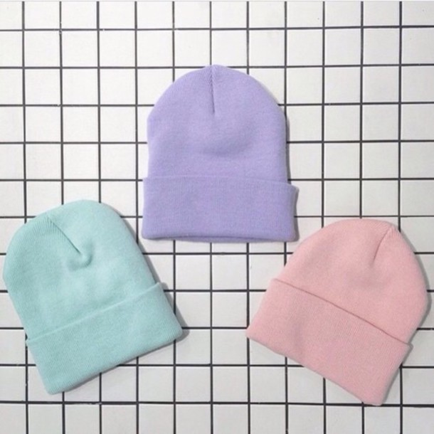 Pastel Beanies · Drew s Closet · Online Store Powered by Storenvy fee1fdccb23