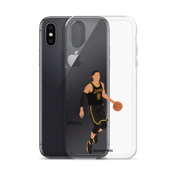 sports shoes 2c71c dc3c5 Kyle Kuzma 'Black Mamba' Minimalist Transparent Phone Case from PacPrints:  Minimalist Art