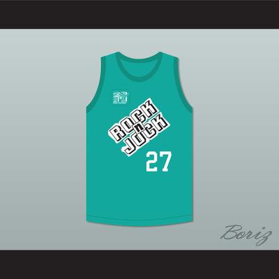 4098c972606 Steve albert 27 violators basketball jersey 3rd annual rock n' jock b-ball  jam