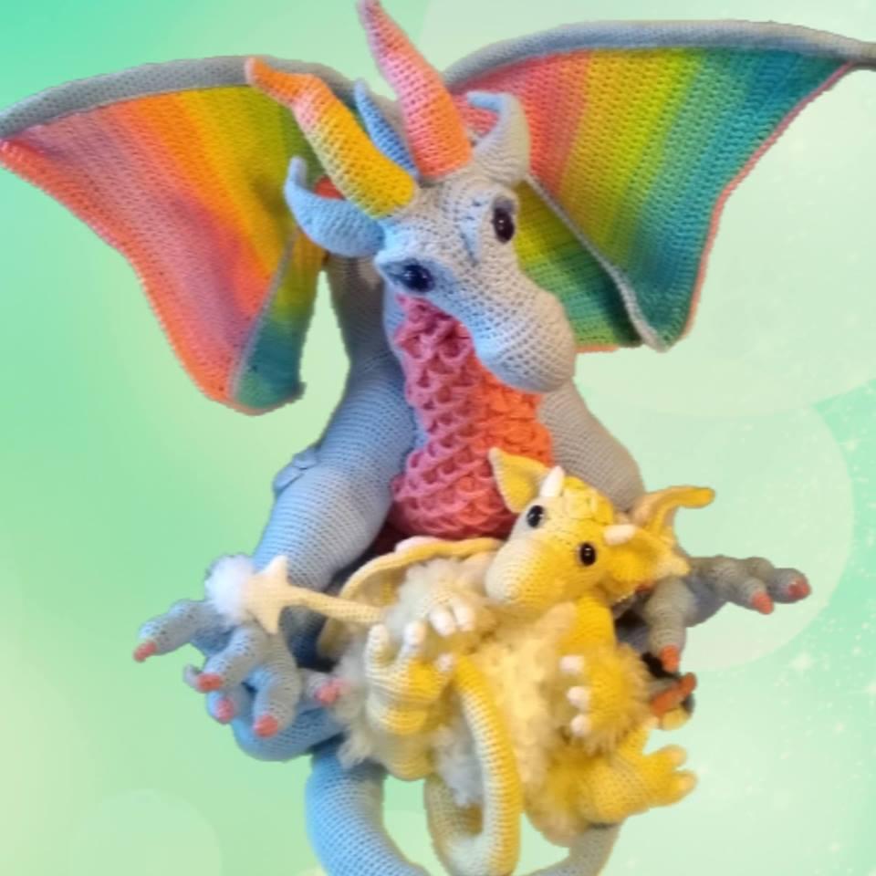Crochet Dragon Amigurumi Super Cute Pattern - Crochet News   960x960