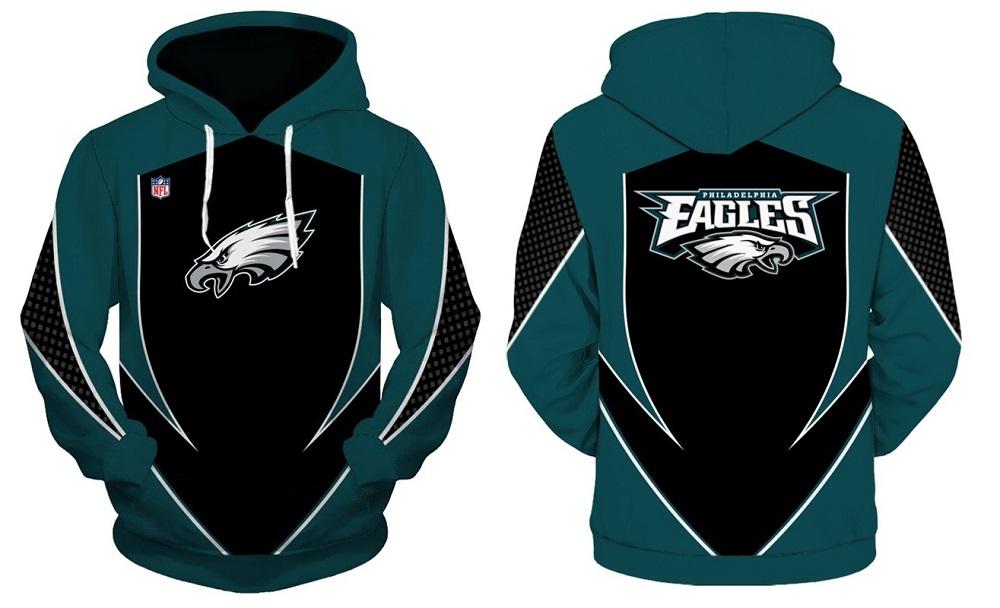 14509658 NFL Philadelphia Eagles Football Hoodie Team Fashion Sweatshirts 2019 from  SportsMegas