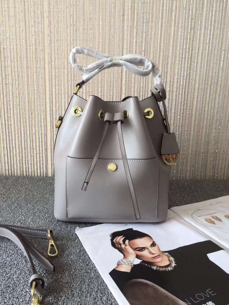 7f3ba5bc01a800 MICHAEL KORS Blakely Leather Bucket Bag(Grey) · Sasa Shopping ...