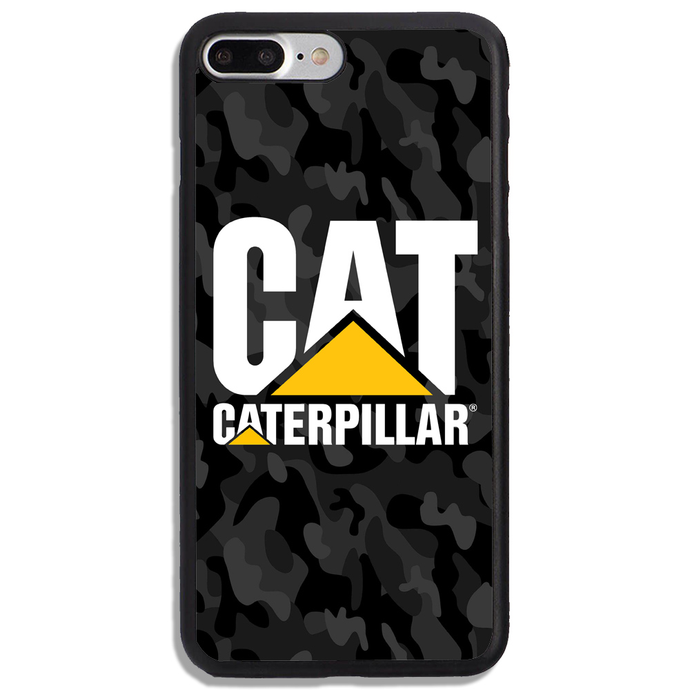 Caterpillar logo black camo print on hard cover phone case protetor for iphone and samsung on storenvy