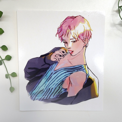 Jimin Serendipity A5 Print · Crylica · Online Store Powered by Storenvy