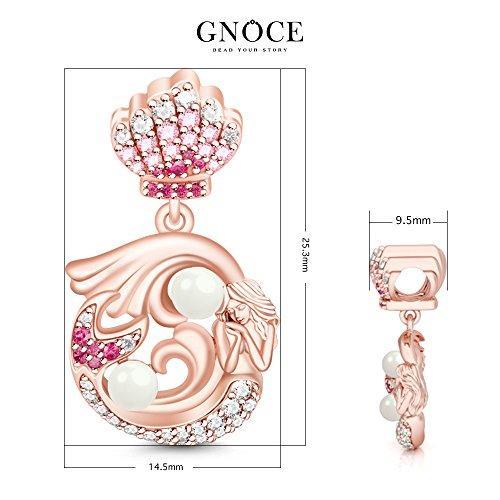 a3e7b82cc55 ... Little Mermaid Pendant 925 Sterling Silver Charm Bead Dangle for European  Bracelets Gift for her ...