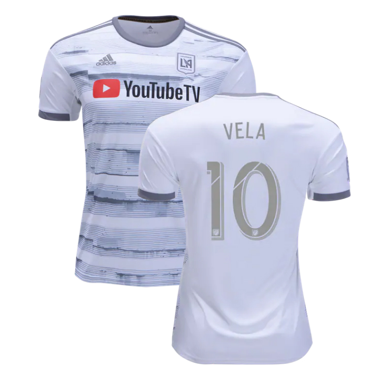 hot sale online fcef5 49417 VELA 10 LAFC 2019 Away Jersey Men's Los Angeles FC Soccer Stadium Shirt  yupoo sold by JerseyHunt