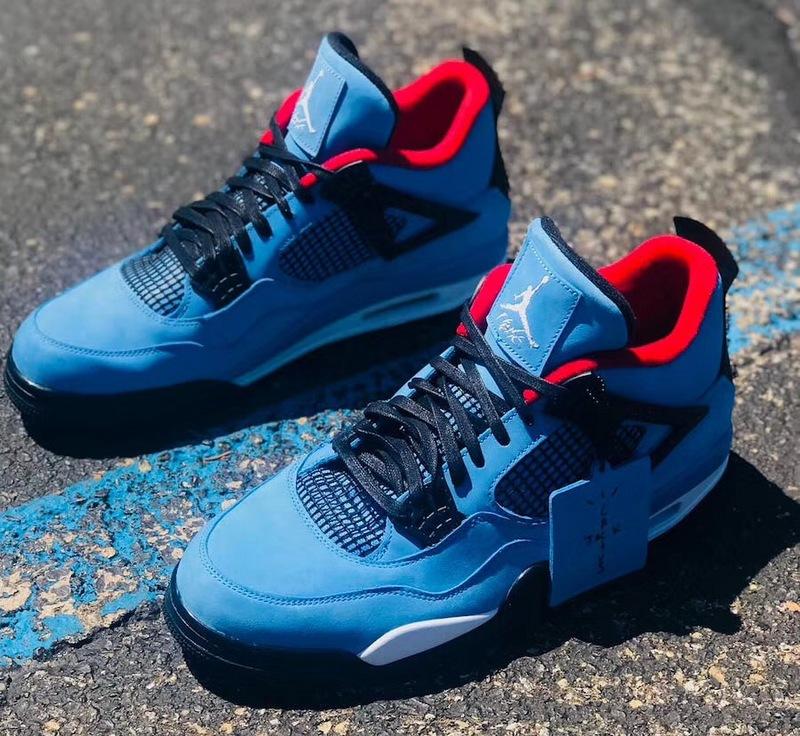 "4c15acd9232 Nike Air Jordan 4 Retro Travis Scott Cactus Jack ""Houston Oilers"" Shoes on  Storenvy"