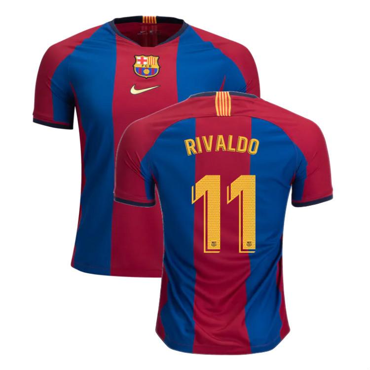 half off 5d4c0 ac35e Rivaldo Barcelona 2019 Limited Edition Soccer Jersey Men's Stadium Soccer  Shirt El Clasico from JerseyHunt